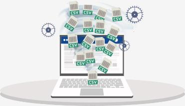 Tracciato costi per contabilità analitica